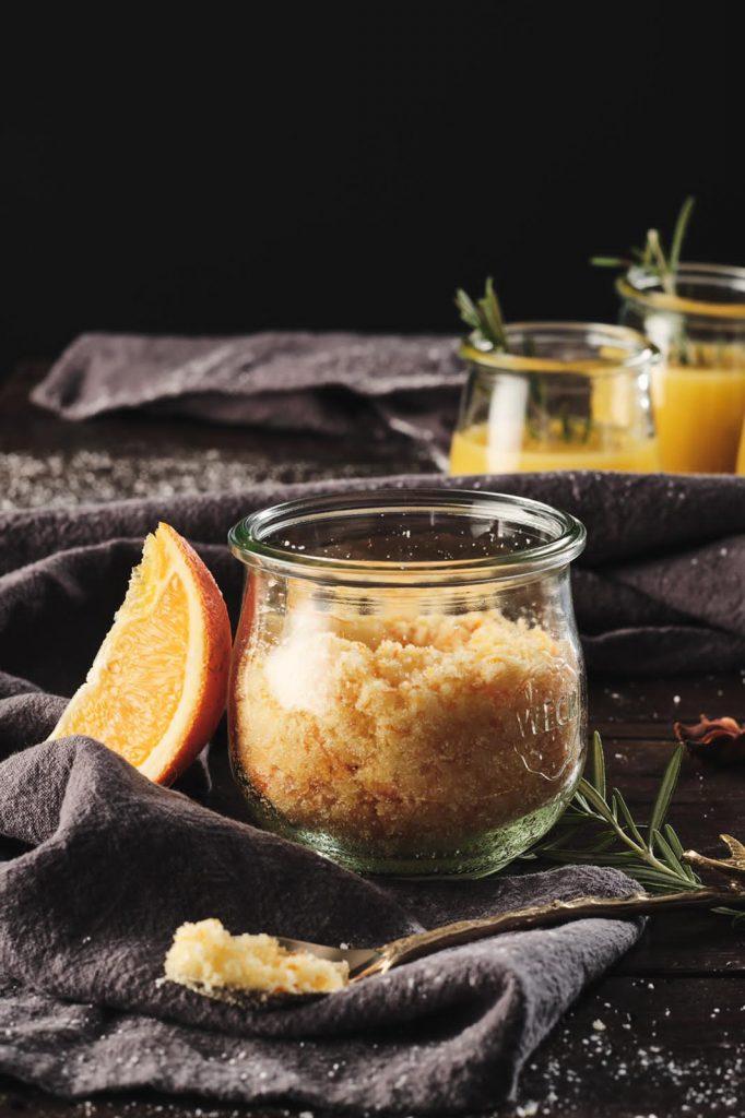 Orangenzucker mit Zimt